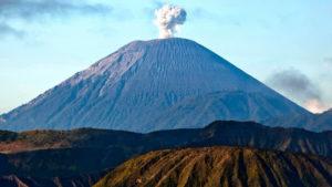 Фото вулкана Тамбора