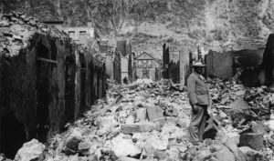 Последствия извержения вулкана Мон-Пеле