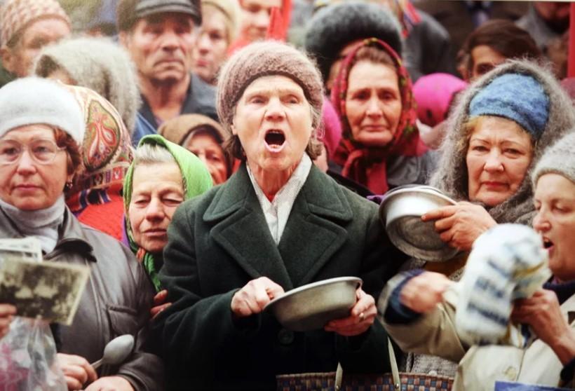 Низкие зарплаты в России