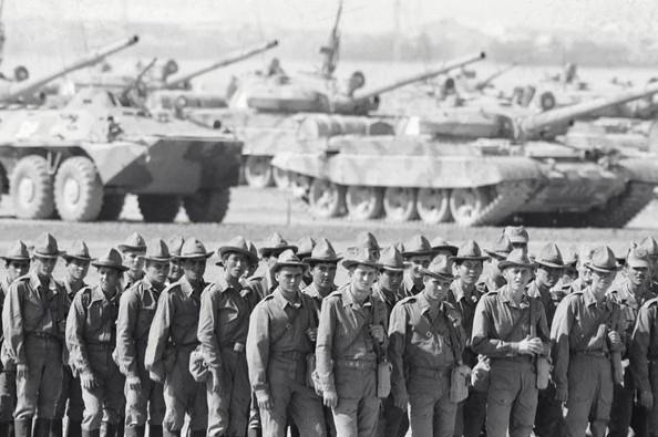 Советские солдаты возвращаются на Родину из Афганистана, 15 октября 1986 года. Фото: RIA Novosti