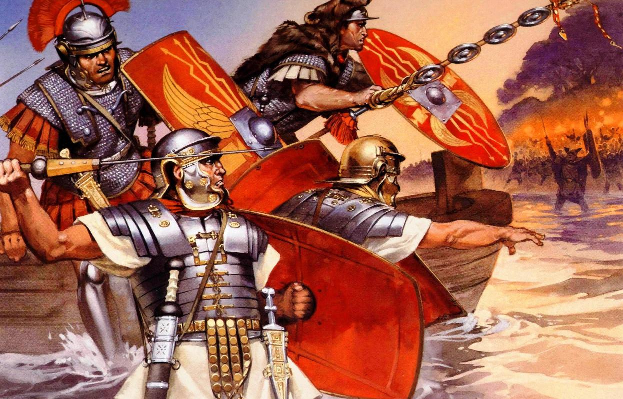 Британская страница Веспасиана изобилует подвигами: говорят, что покорение Британии - целиком его заслуга!