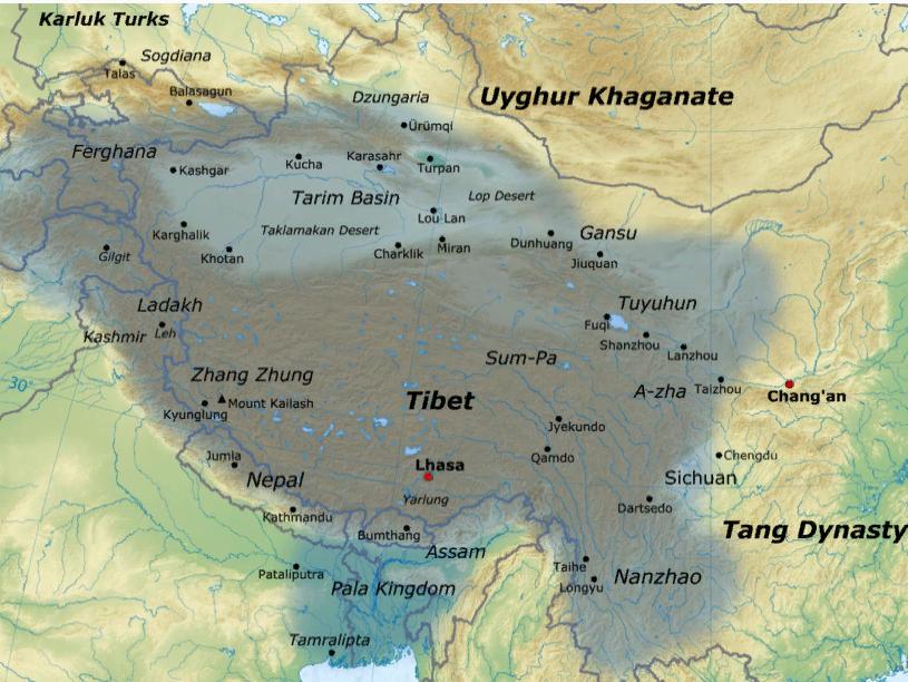 Империя Тибета