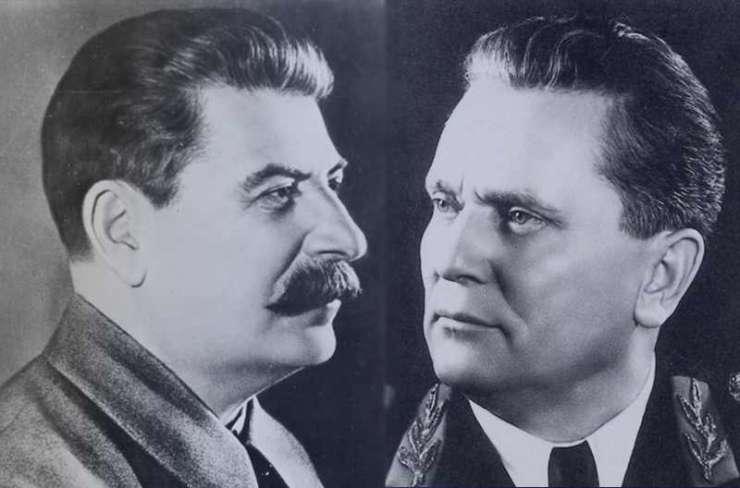Иосиф Сталин и Йосип Броз Тито
