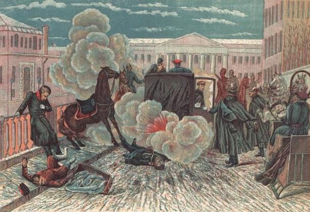 Кто же на самом деле сидел в императорской карете во время взрыва?