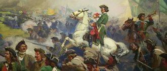 Полтавская битва - главное сражение Северной войны