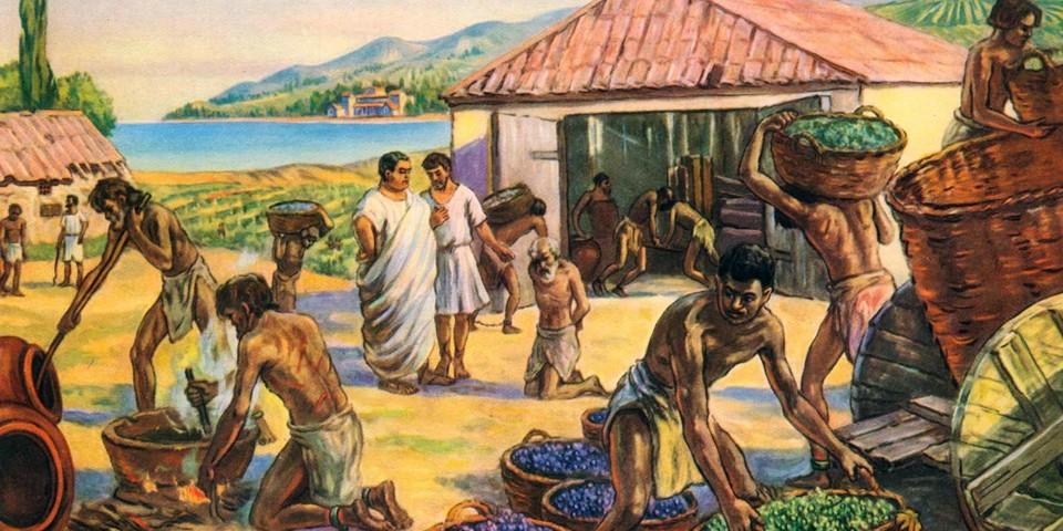Рабы в имениях