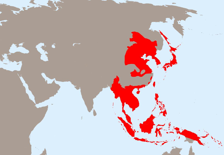 Территория Японской империи перед Второй мировой войной