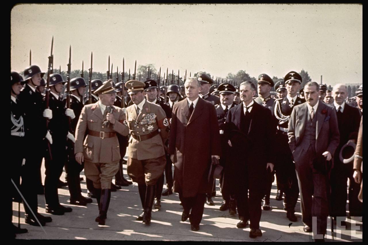 Участники, так называемого, Мюнхенского сговора