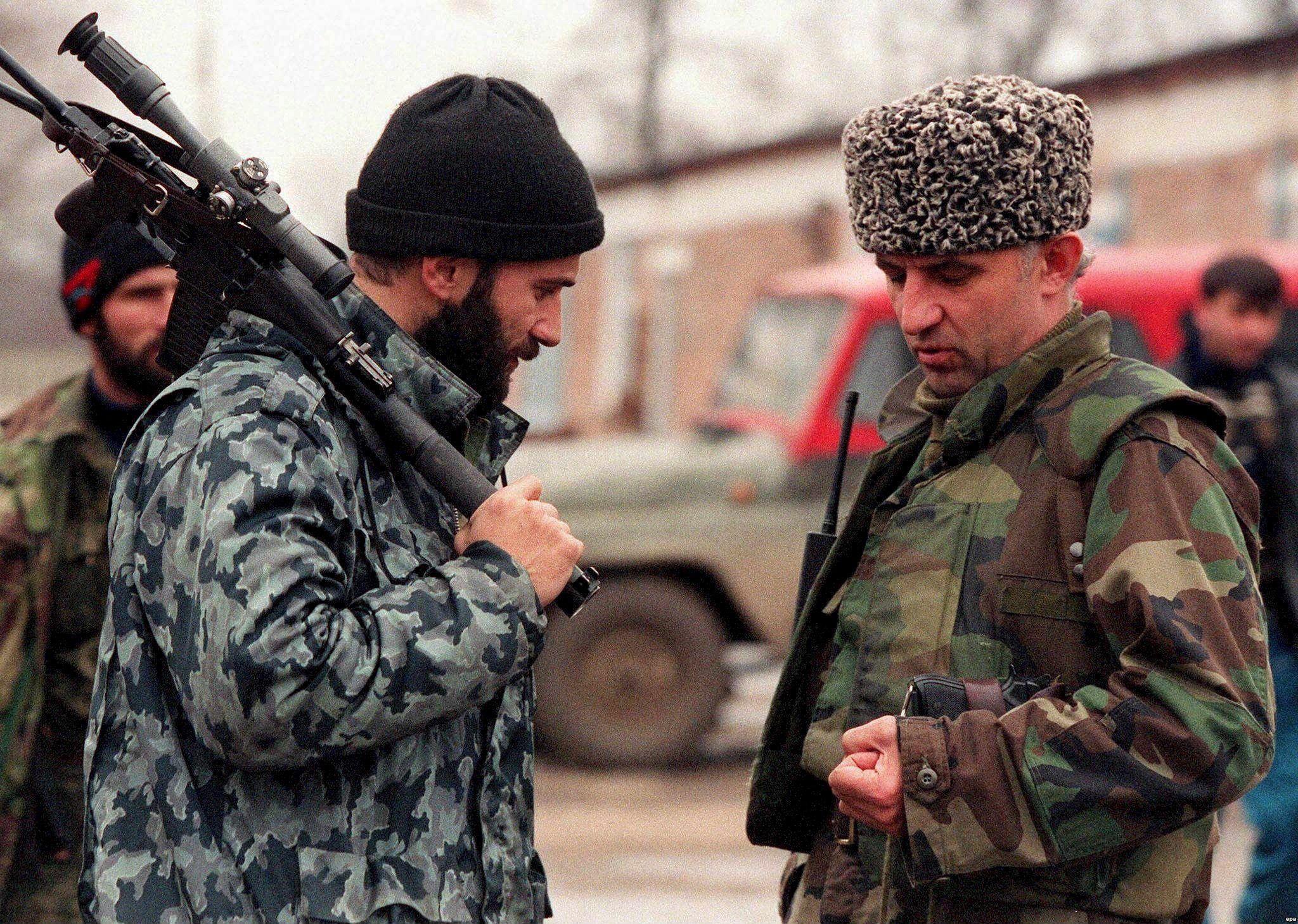 Басаев Масхадов
