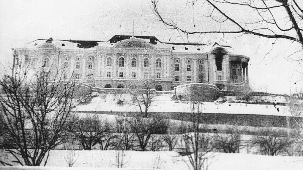Дворец Тадж-Бек