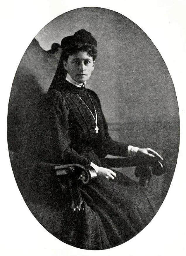 Елизавета Федоровна в трауре