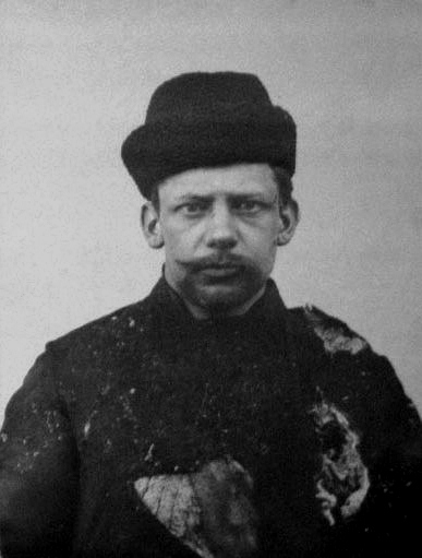Иван Каляев. Фото сделано при задержании после теракта