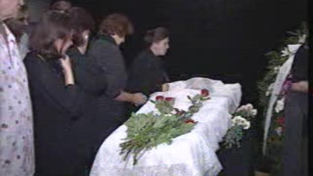 Похороны Елены Майоровой