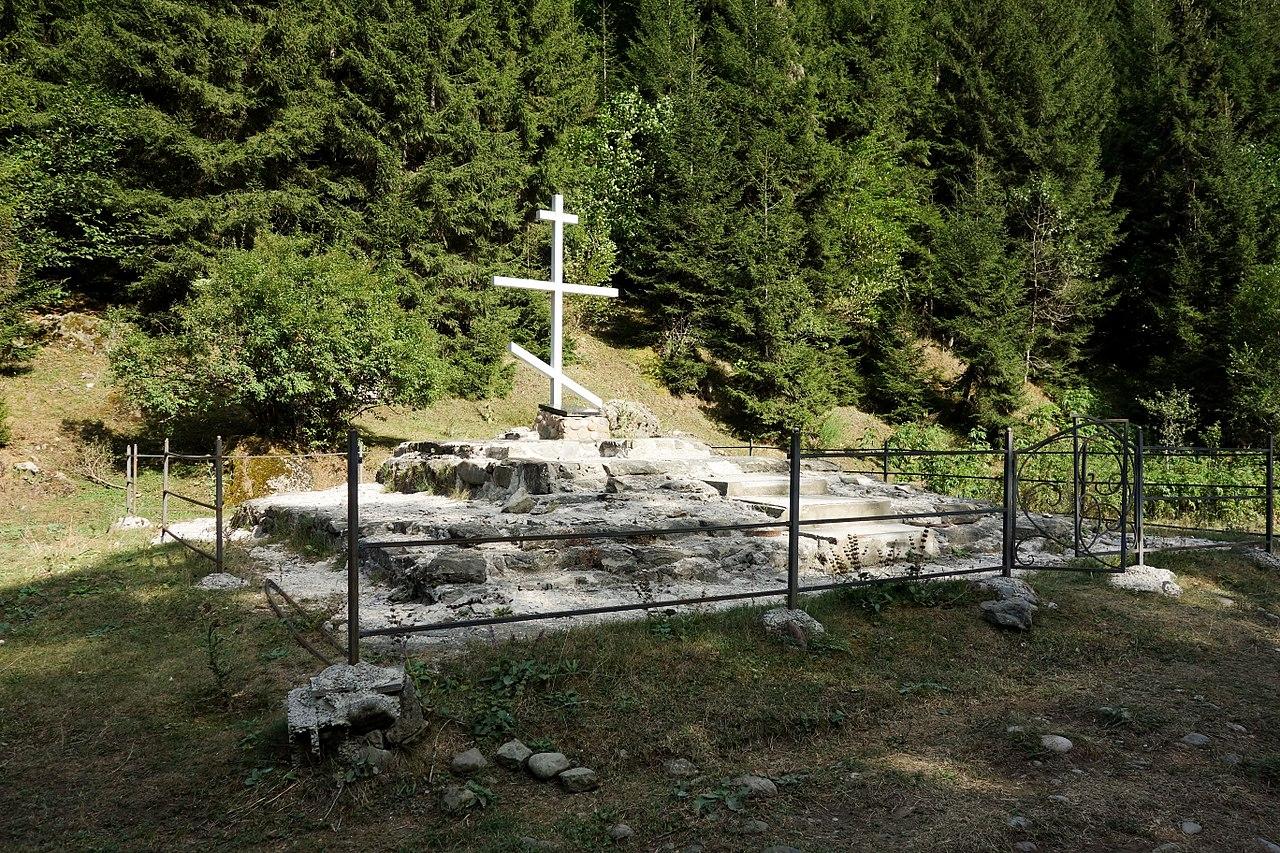 Место смерти Георгия