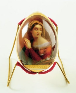 Пасхальный подарок Георгия своей крестнице