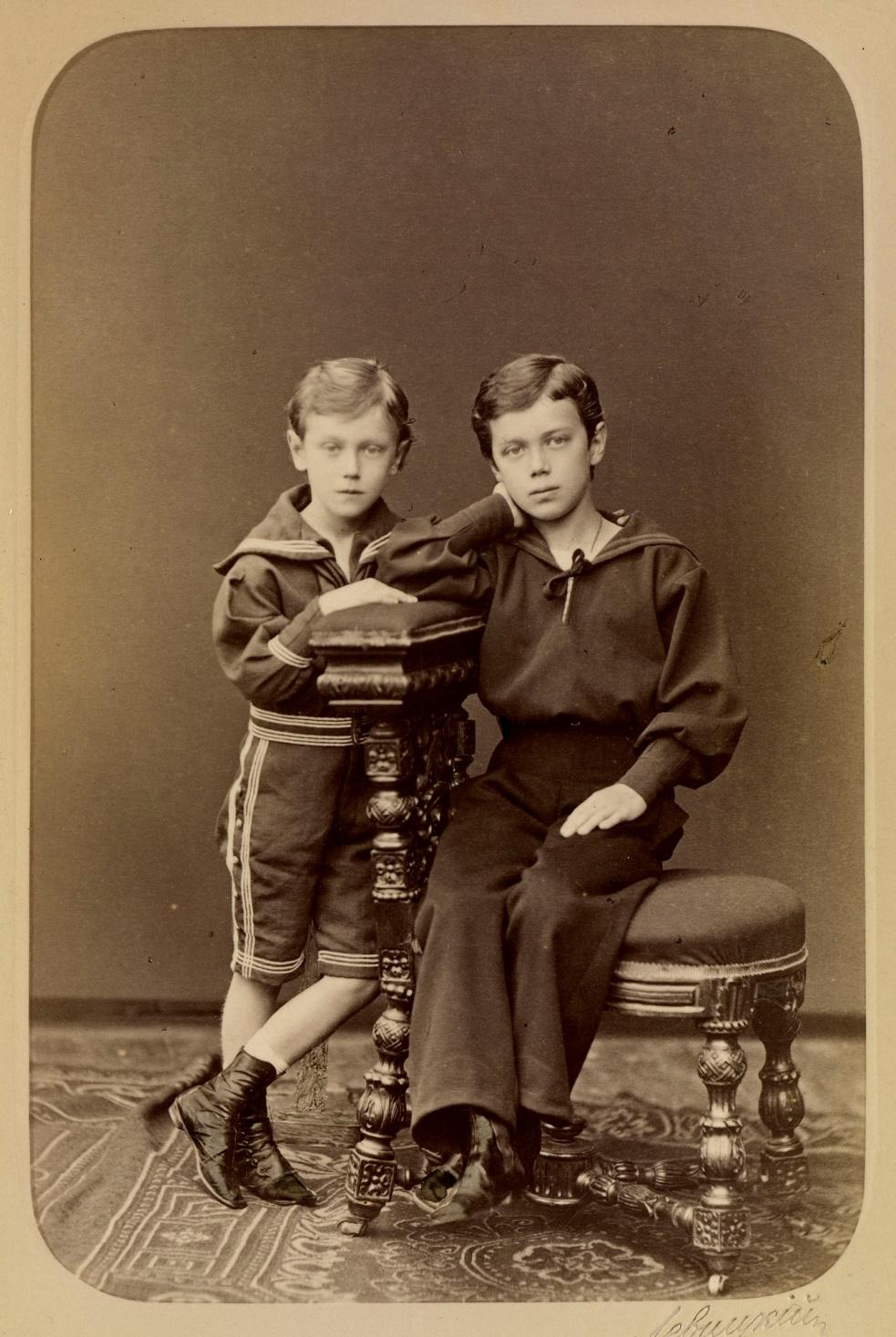 Жоржик и Ники