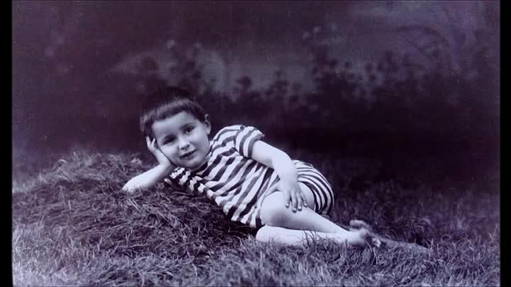 Александр Роу в детстве