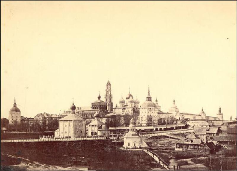 Самая старая фотография Лавры, 1860-1862 год.