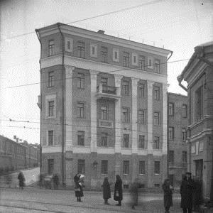 Та самая ночлежка на «Хитровке» или «дом-утюг», принадлежавший И.А. Ромейко.