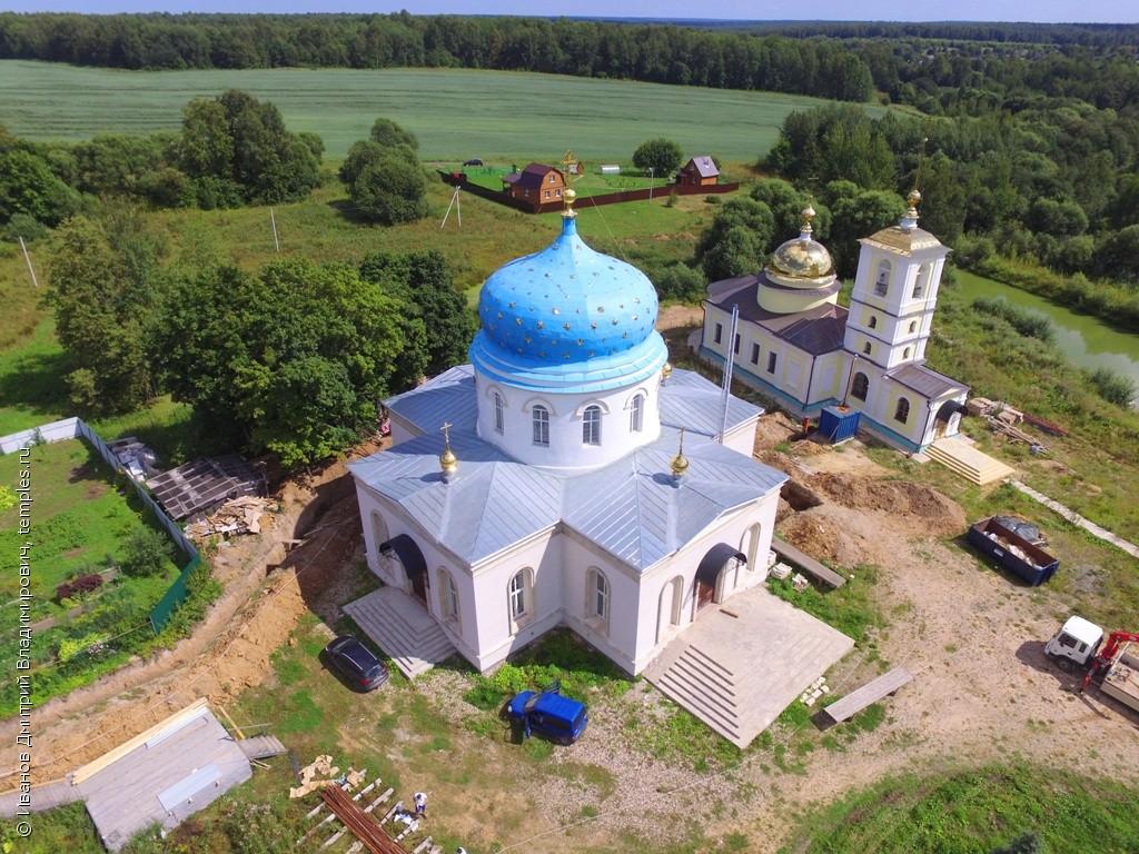 Восстановленная Спасская церковь