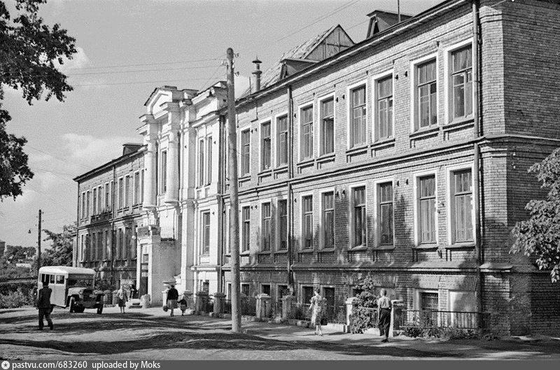 Здание в советское время