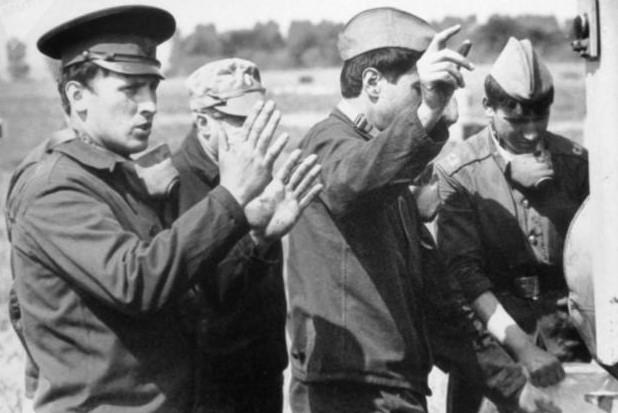 Военные на ликивидации последствий аварии на ЧАЭС