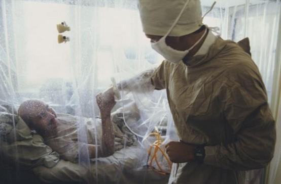 Ликвидатор ЧАЭС в больнице