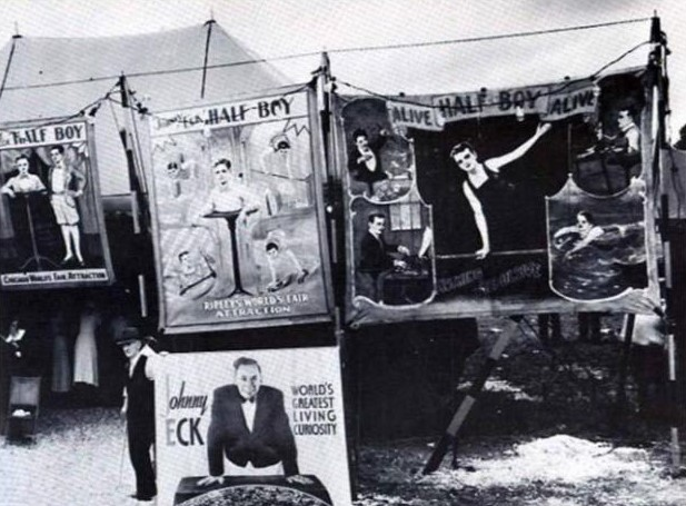 Цирк уродов в Америке