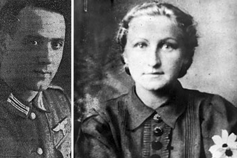 Отто Адам и Мария Васильева
