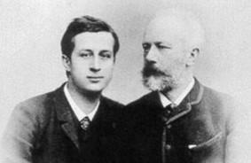 Чайковский с племянником и любовником Бобом Давыдовым