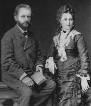 П.И. Чайковский и Антонина Милюкова