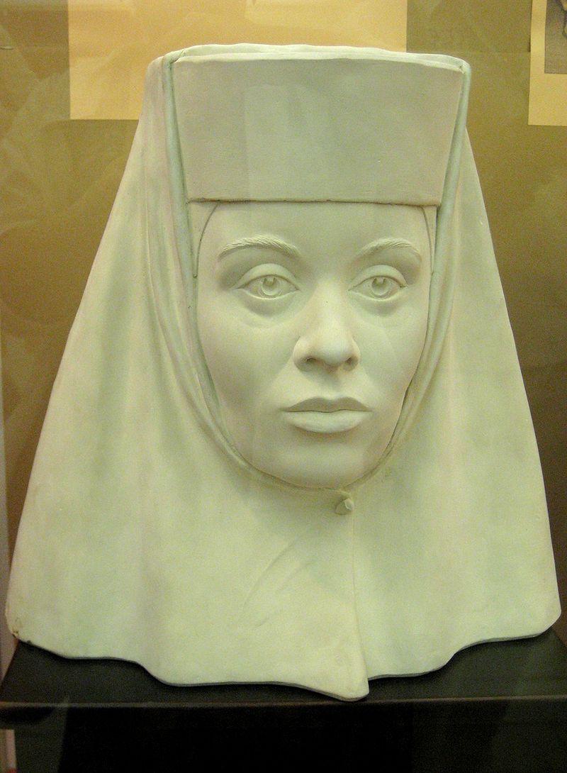 Скульптурный портрет Ирины Годуновой, восстановленный по черепу