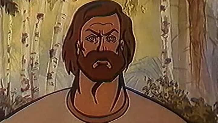 Кадр из мультфильма «Сказ о Евпатии Коловрате»