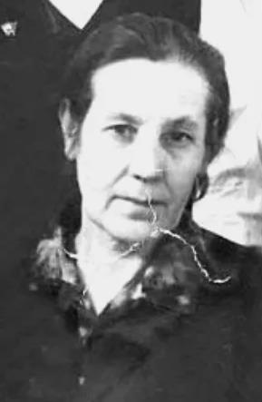 Ольга в пожилом возрасте