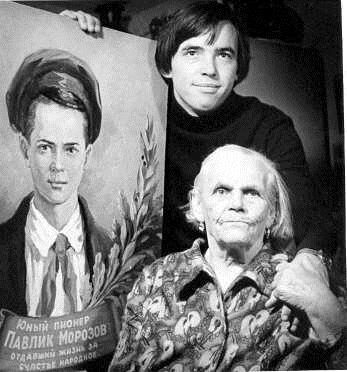 Татьяна Морозова с внуком Павлом