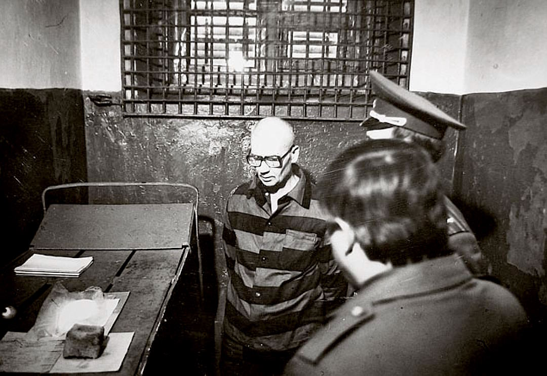 Андрей Чикатило в камере