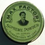 Баночки со средствами от Макса Фактора