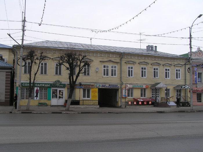 Дом №48 на Соборной улице в Рязани