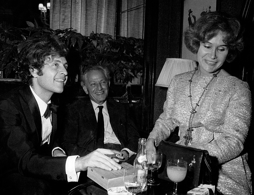 Джо Дассен с родителями