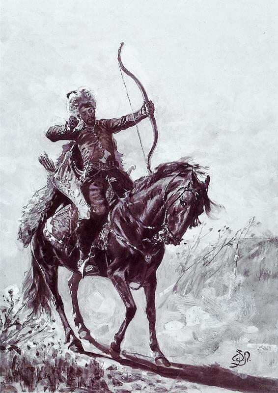 Крымско-татарский лучник