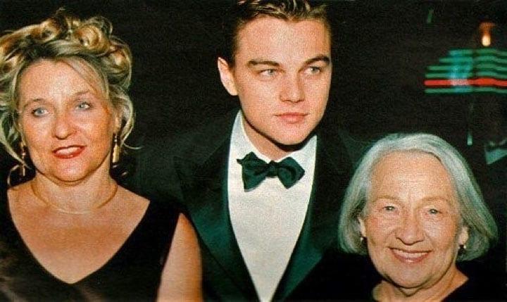 Леонардо с бабушкой и мамой