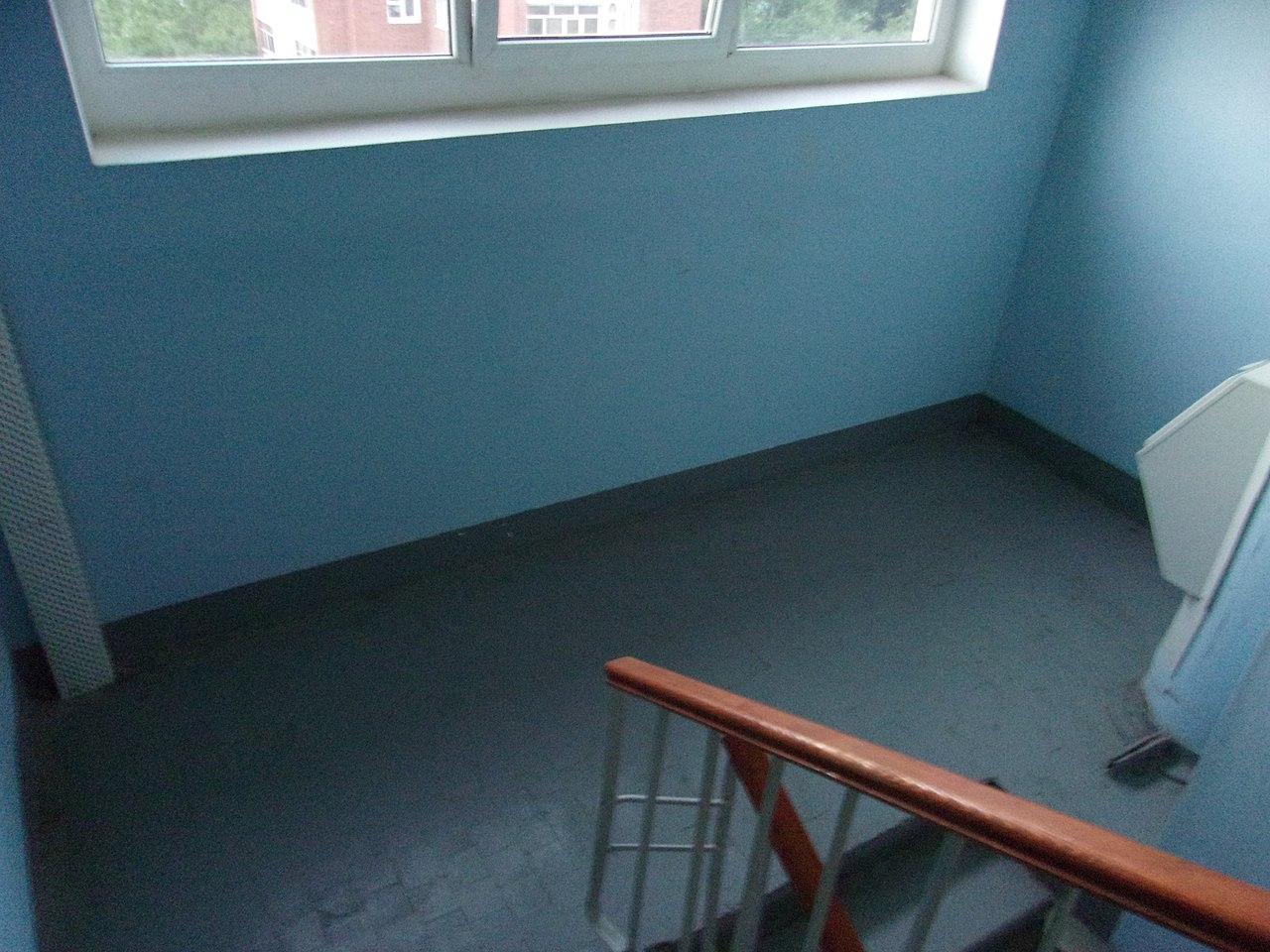 Место преступления – лестничная площадка между 7 и 8 этажами в доме №18 по улице Космонавтов