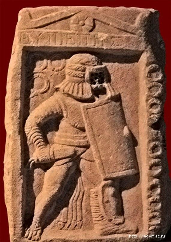 Надгробие гладиатора