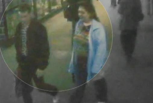 Пичушкин и Марина Москалева, зафиксированные камерами слежения в метро