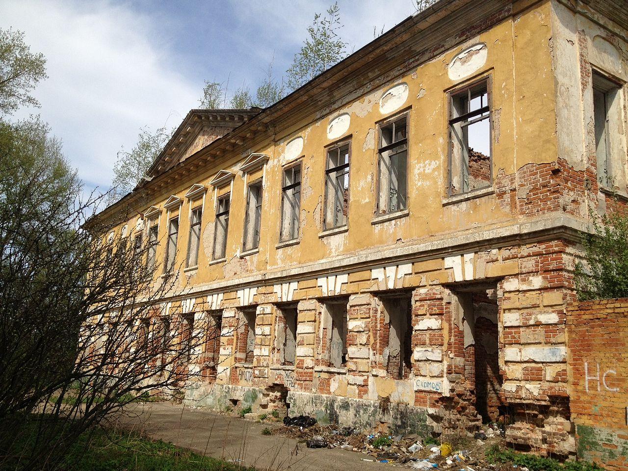 Развалины усадебного дома
