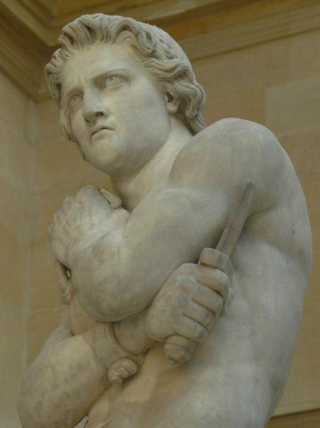 Скульптура Дени Пуатье «Спартак»