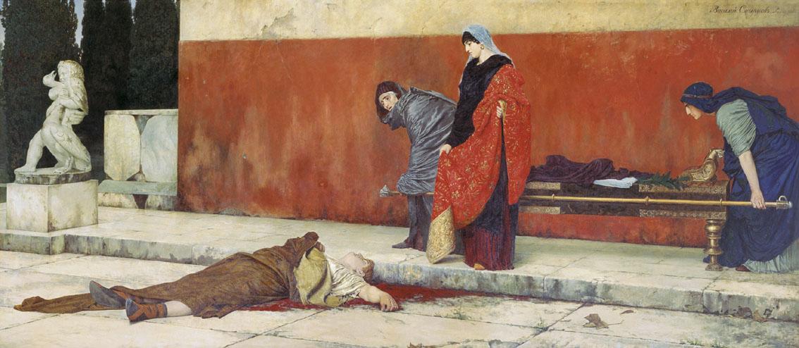 В.С. Смирнов. Смерть Нерона.