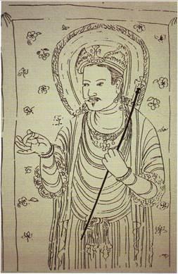 Китайская икона Христа