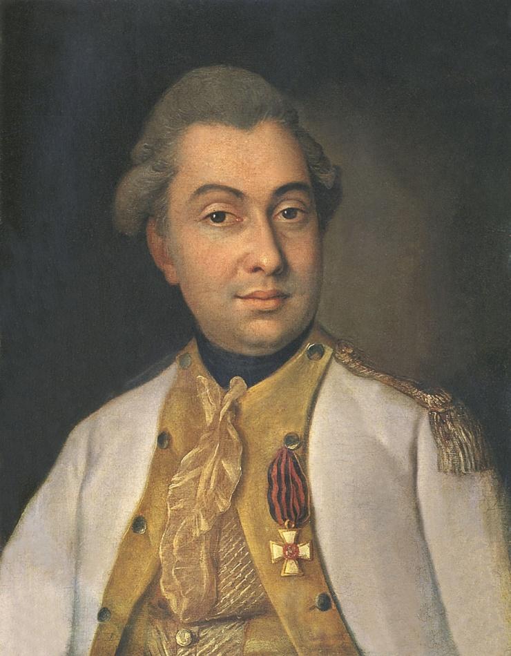 М.И. Кутузов в молодости