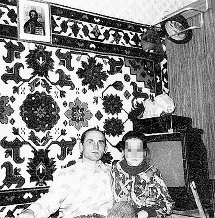 Муханкин с сожительницей